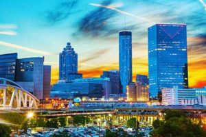 Atlantaranks fourth in the number of Fortune 500 companies.
