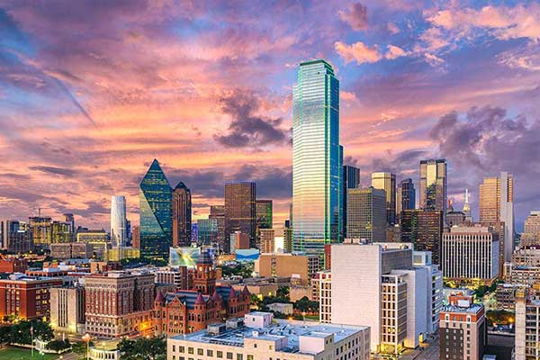 Dallas / Fort Worth has the largest number of corporate headquarters in the country.