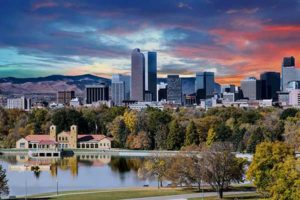 Denver has many companies in the high-tech industry.