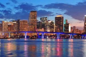 Miami,Floridais an international hub for commerce and trade.