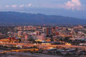 The Tucson, Arizona economy is healthy due to the construction and business services sectors.