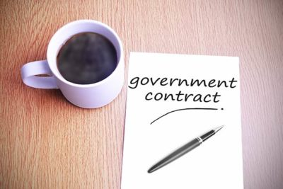Government contract award requirements