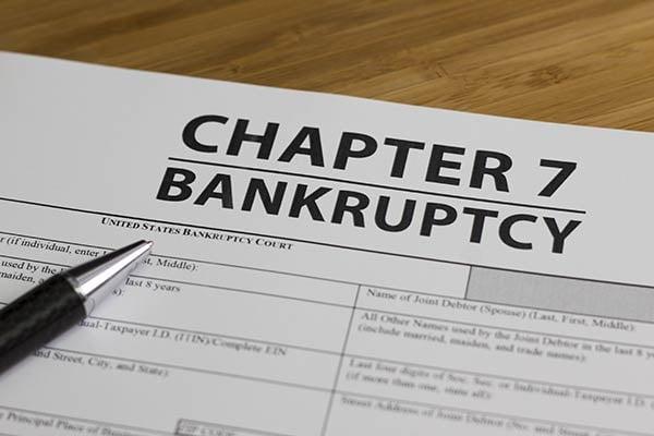 Invoice factoring reserve for bad debts.