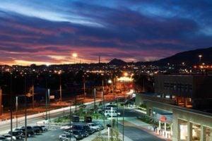 El Paso is the western most city in Texas.